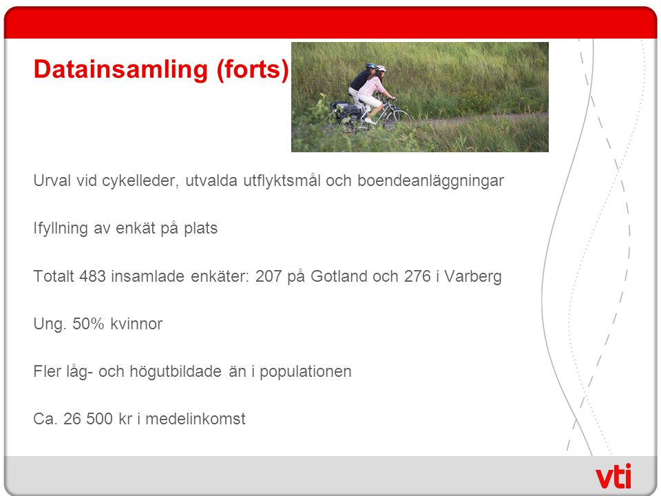 Datainsamling (forts)