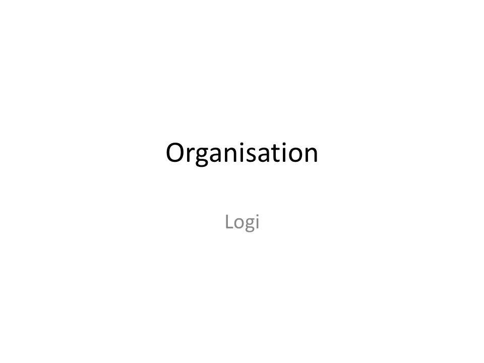 Organisation Logi