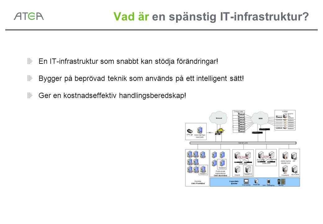 Vad är en spänstig IT-infrastruktur