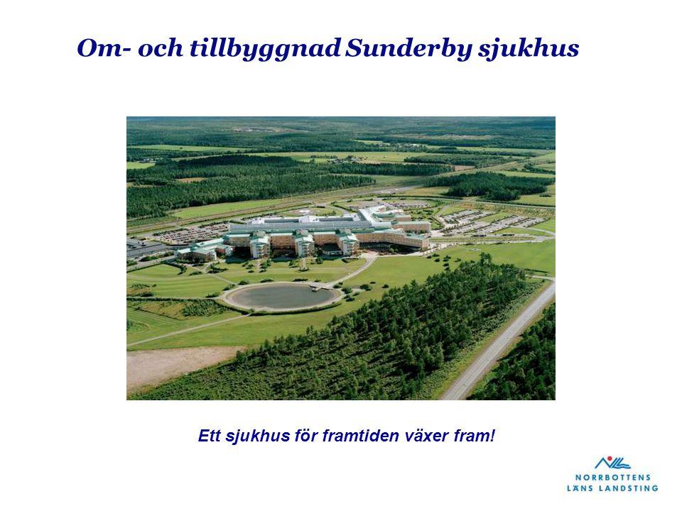 Om- och tillbyggnad Sunderby sjukhus