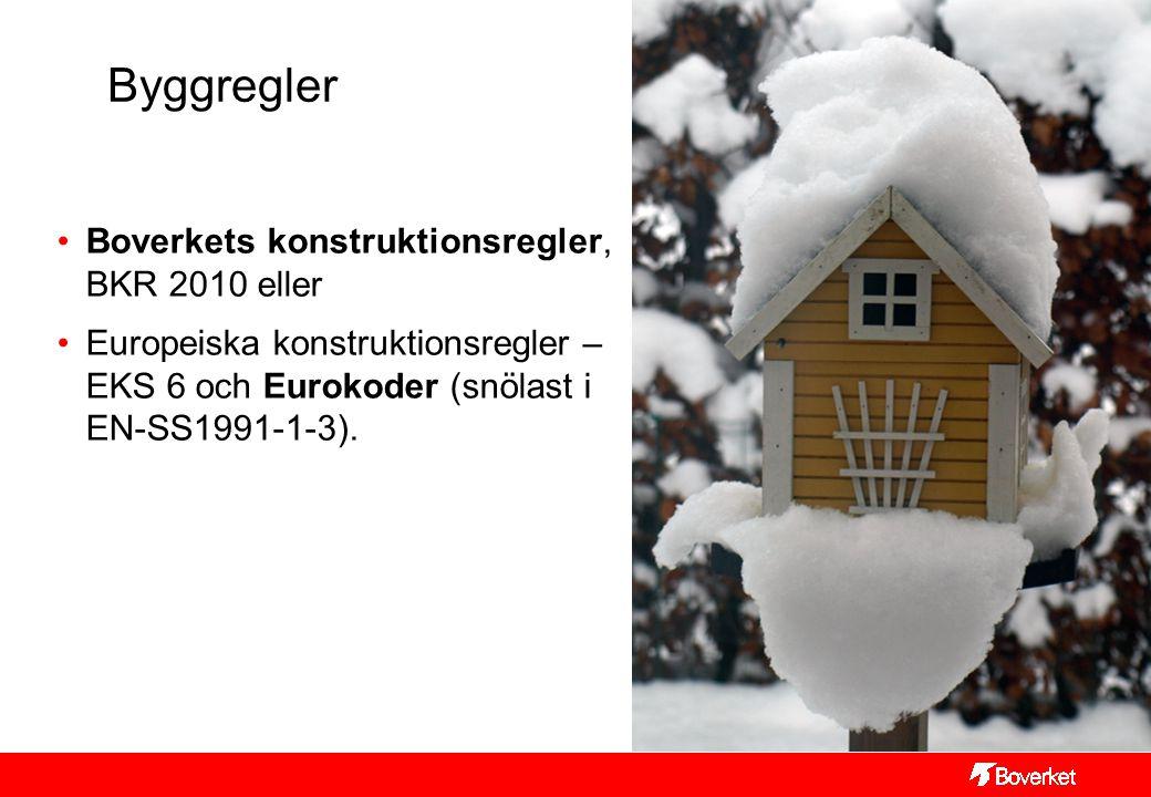 Byggregler Boverkets konstruktionsregler, BKR 2010 eller