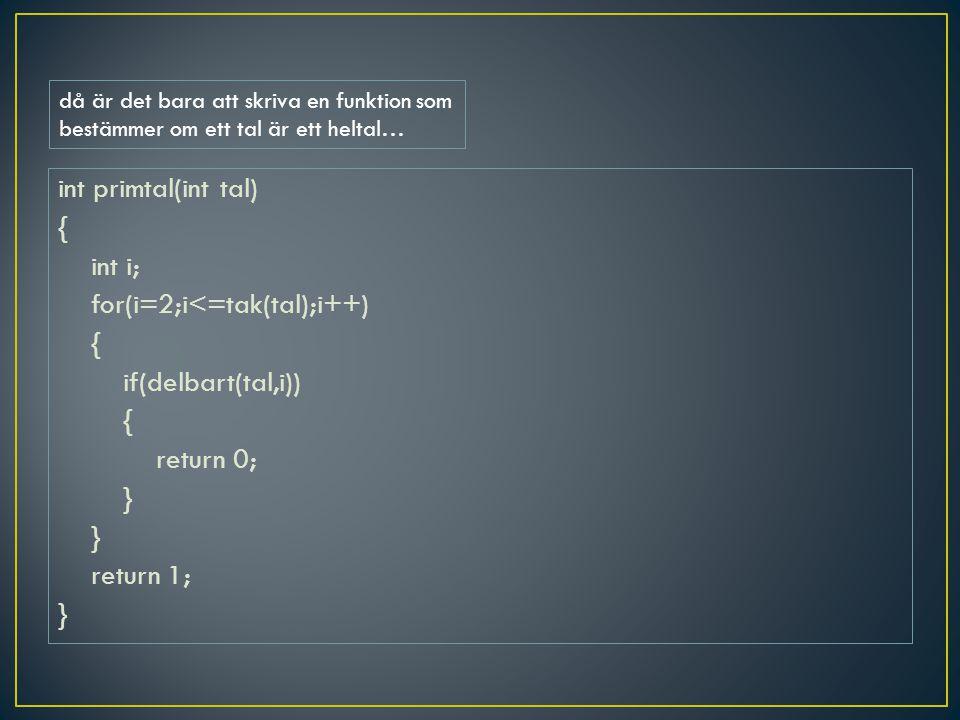 då är det bara att skriva en funktion som bestämmer om ett tal är ett heltal…