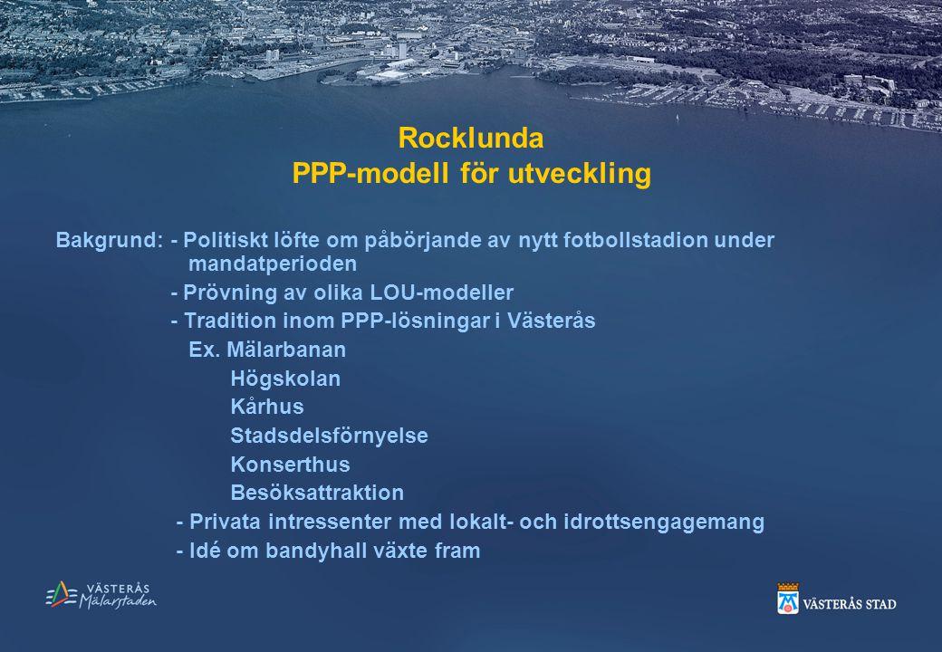 Rocklunda PPP-modell för utveckling