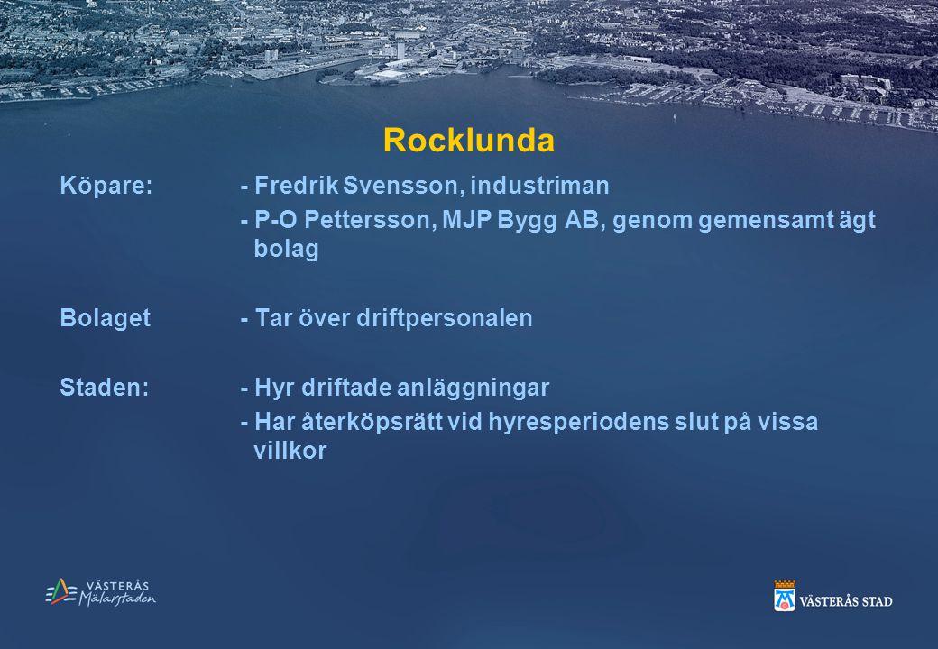 Rocklunda Köpare: - Fredrik Svensson, industriman