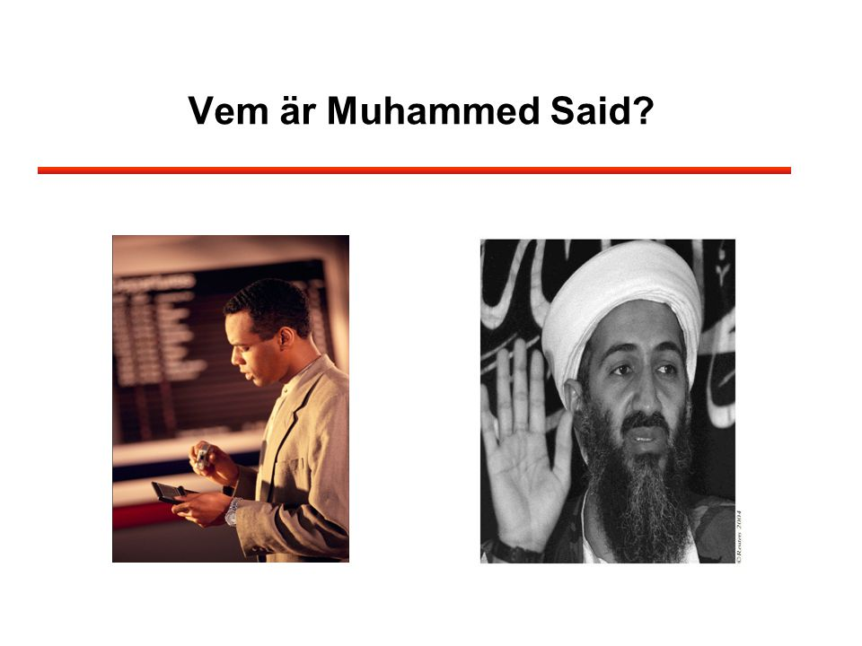 Vem är Muhammed Said Kan vi mäta omedvetna processer