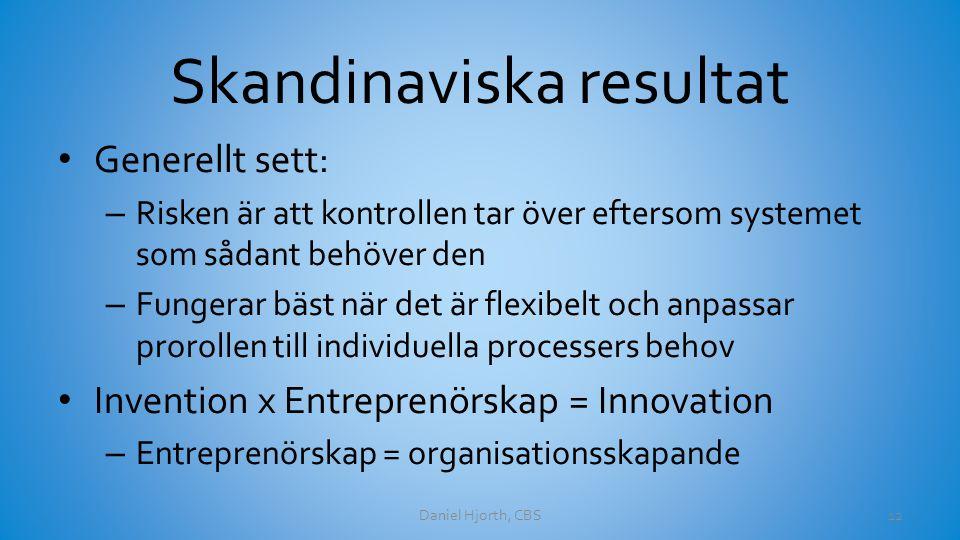 Skandinaviska resultat