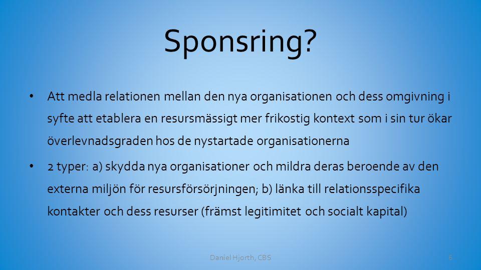 Sponsring