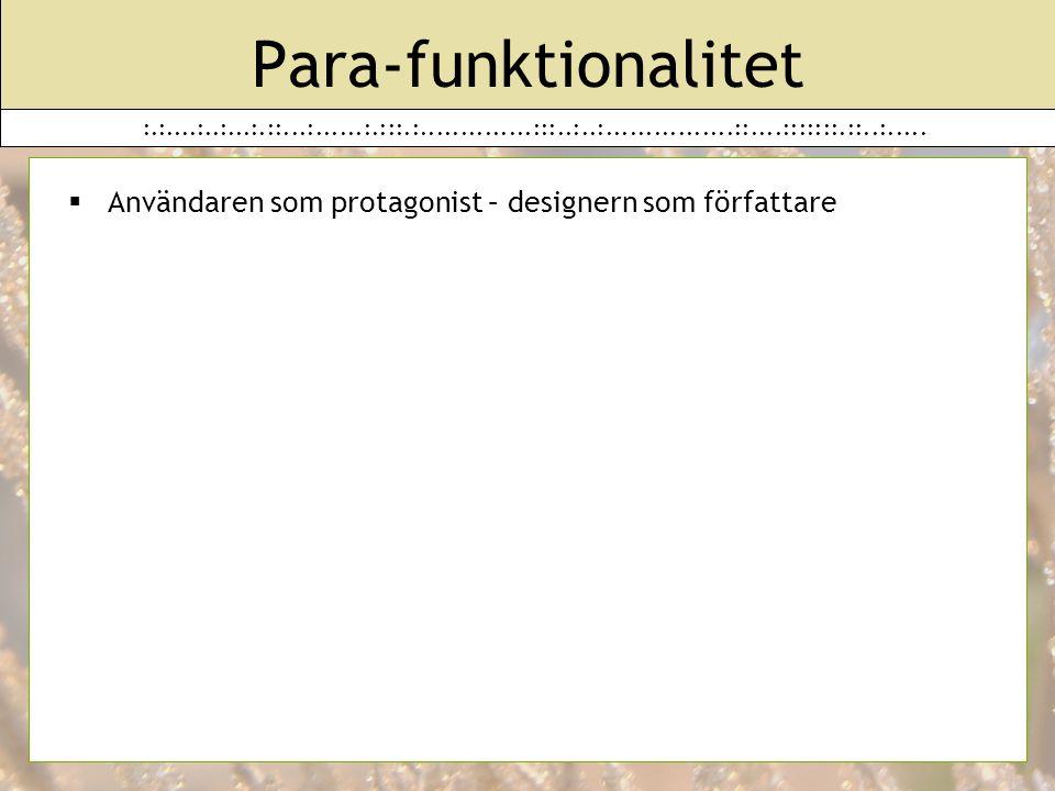 Para-funktionalitet :.:....:..:...:.::...:......:.:::.:..............:::..:..:................::....:::::::.::..:.....
