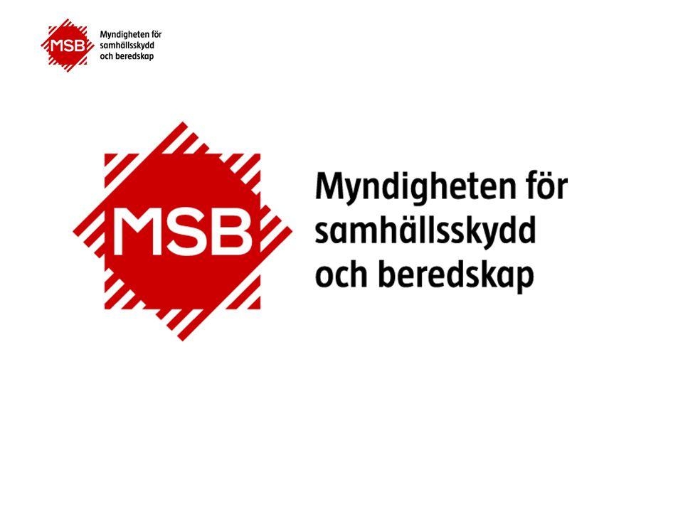 Sammanfattningsvis MSB verkar för ett stärkt samhällsskydd