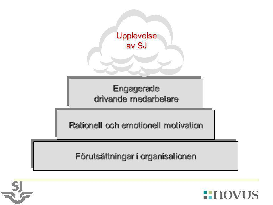 Förutsättningar i organisationen Rationell och emotionell motivation