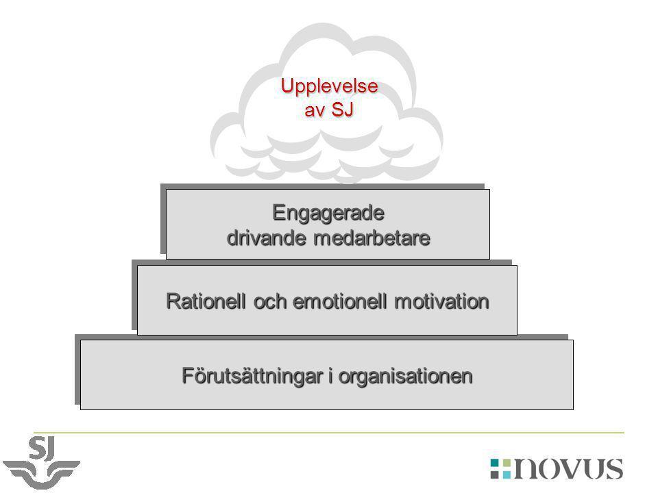 Förutsättningar i organisationen Rationell och emotionell motivation