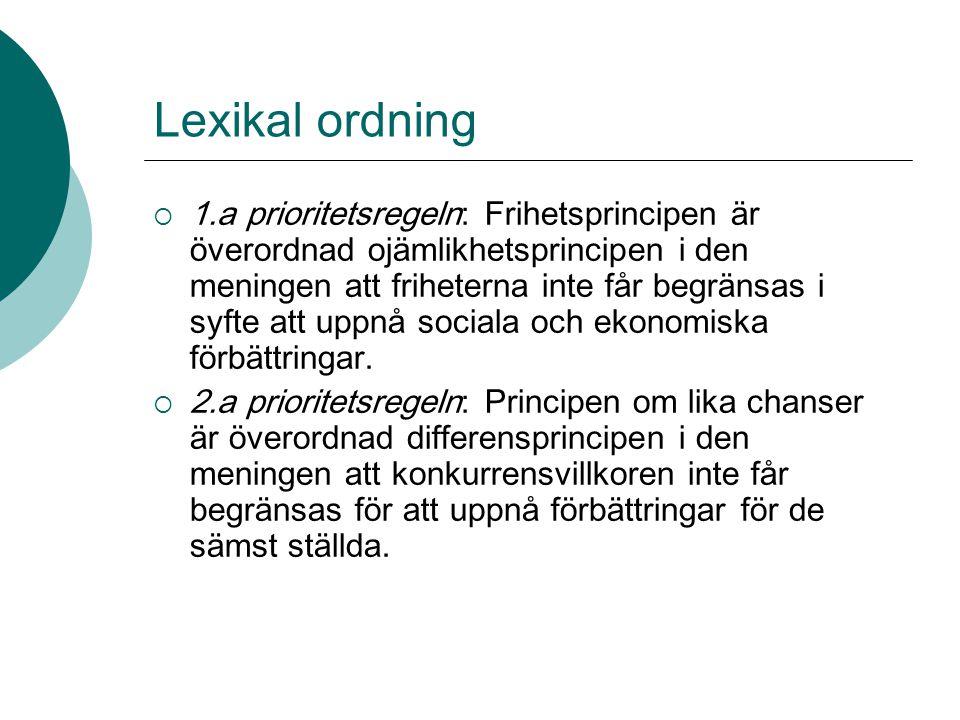 Lexikal ordning