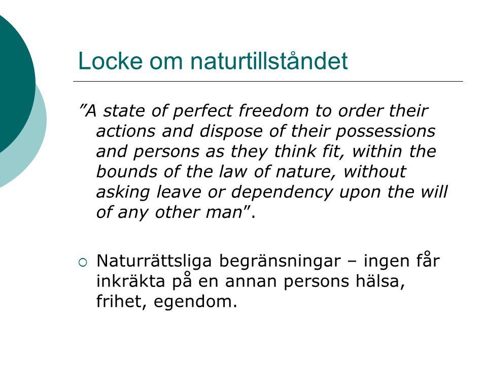 Locke om naturtillståndet