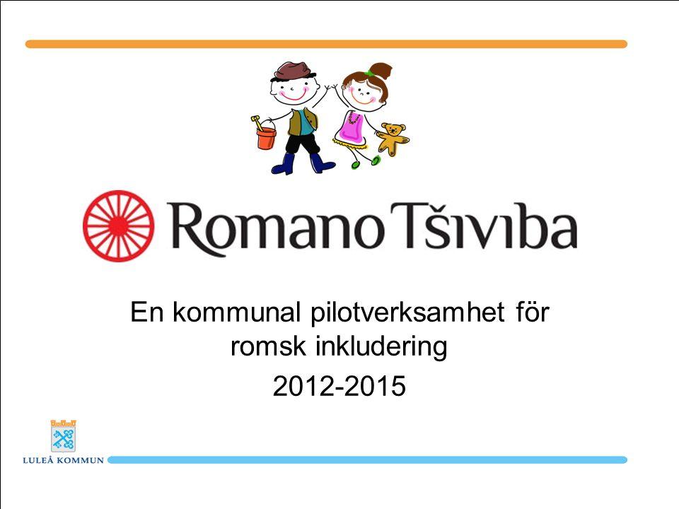En kommunal pilotverksamhet för romsk inkludering