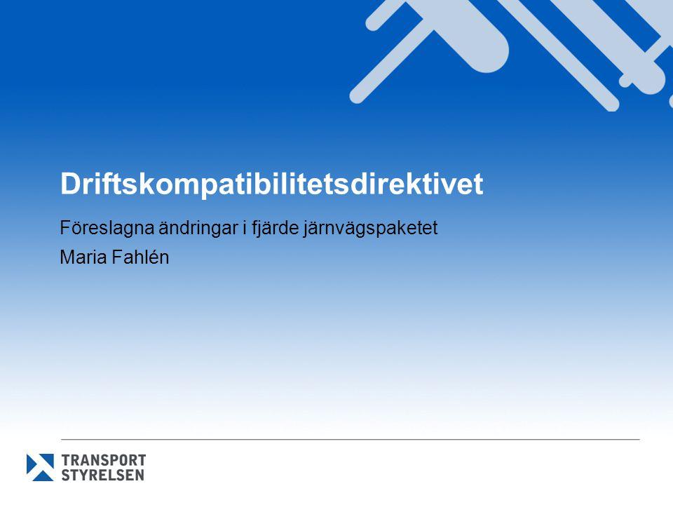 Driftskompatibilitetsdirektivet