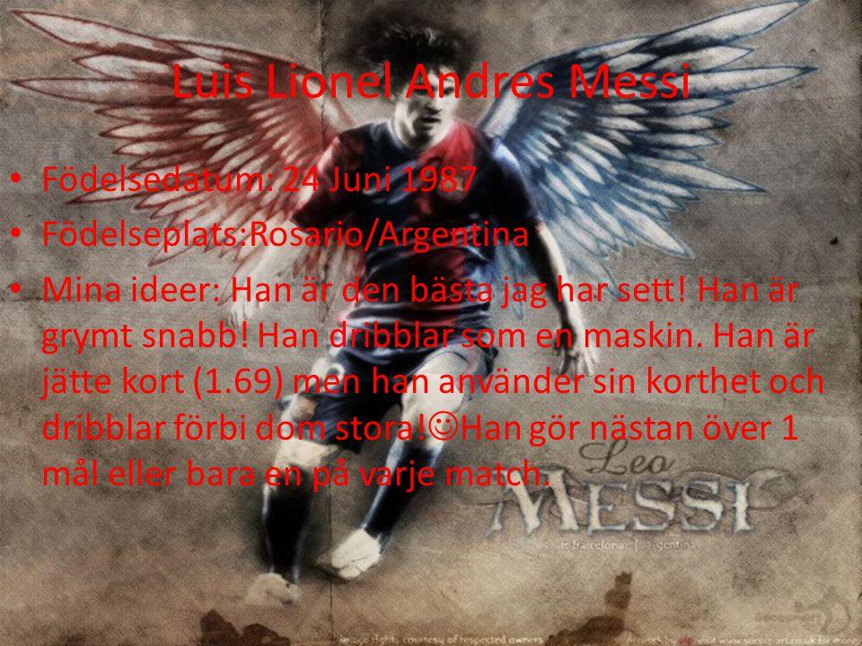 Luis Lionel Andres Messi
