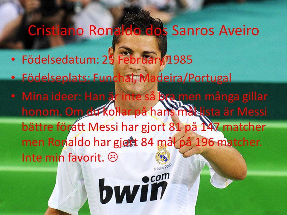Cristiano Ronaldo dos Sanros Aveiro