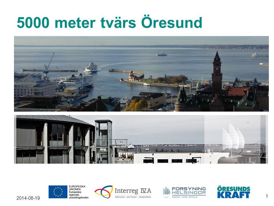 5000 meter tvärs Öresund Jag ska berätta om 5000 meter.