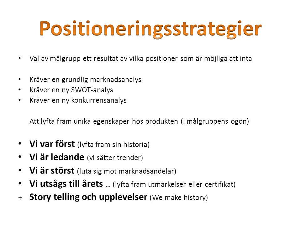 Positioneringsstrategier