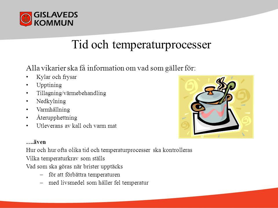 Tid och temperaturprocesser