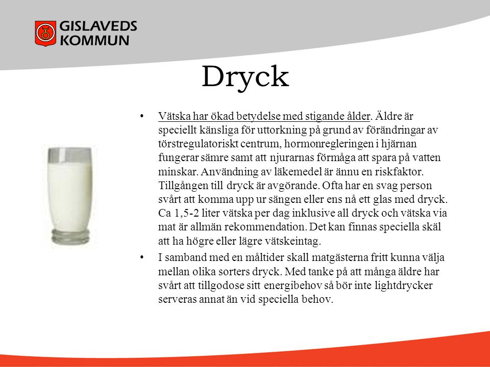 Dryck