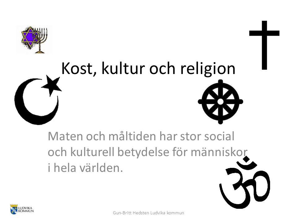 Kost, kultur och religion