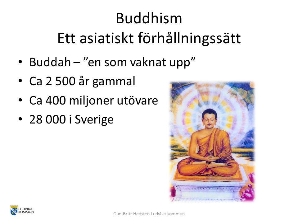 Buddhism Ett asiatiskt förhållningssätt