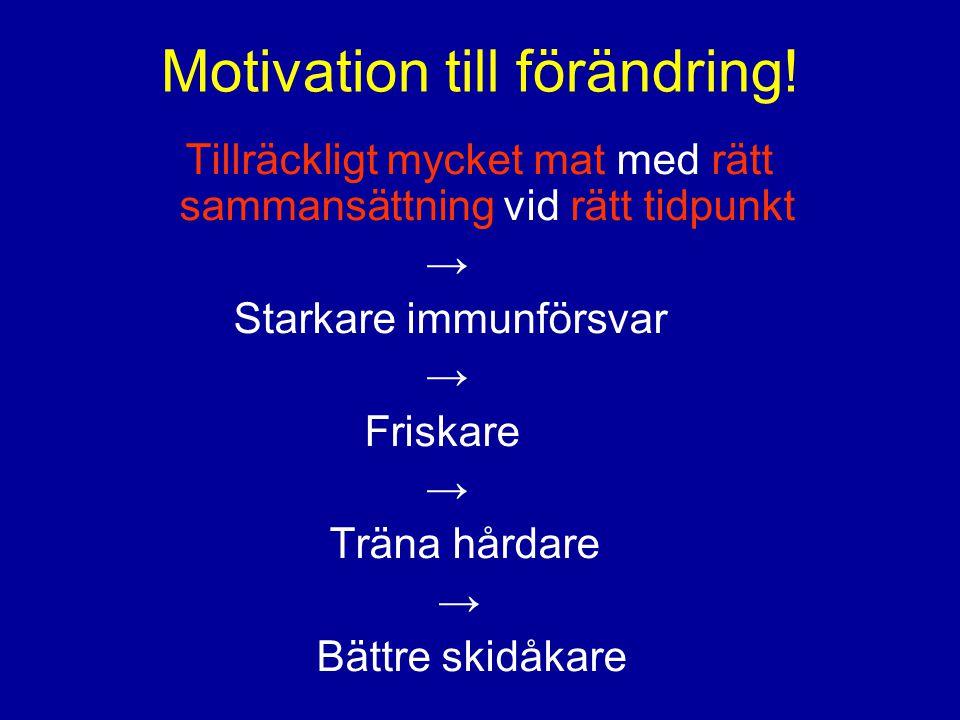 Motivation till förändring!