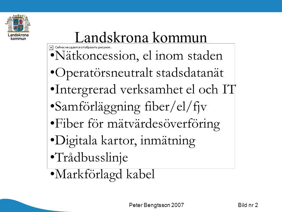 Landskrona kommun Nätkoncession, el inom staden