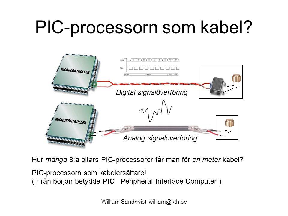 PIC-processorn som kabel