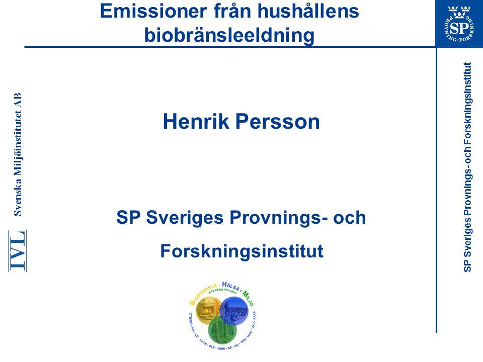 Emissioner från hushållens biobränsleeldning