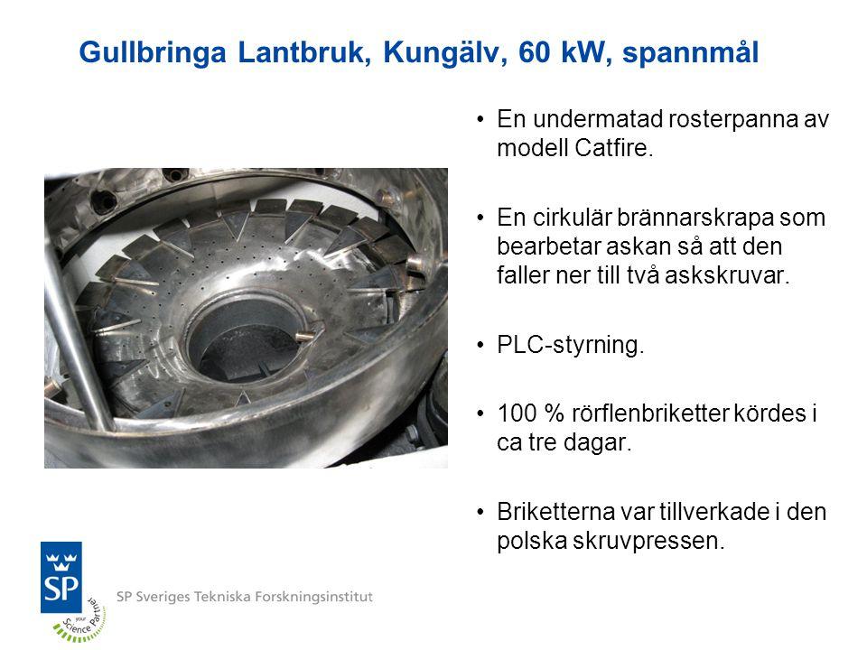 Gullbringa Lantbruk, Kungälv, 60 kW, spannmål