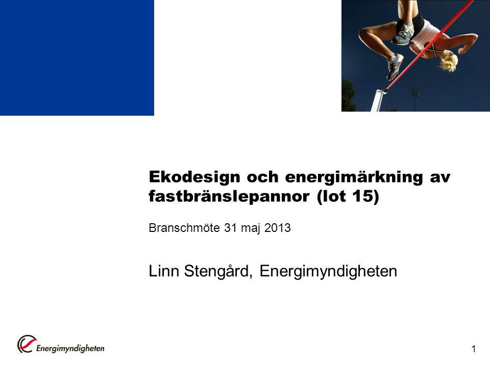 Linn Stengård, Energimyndigheten