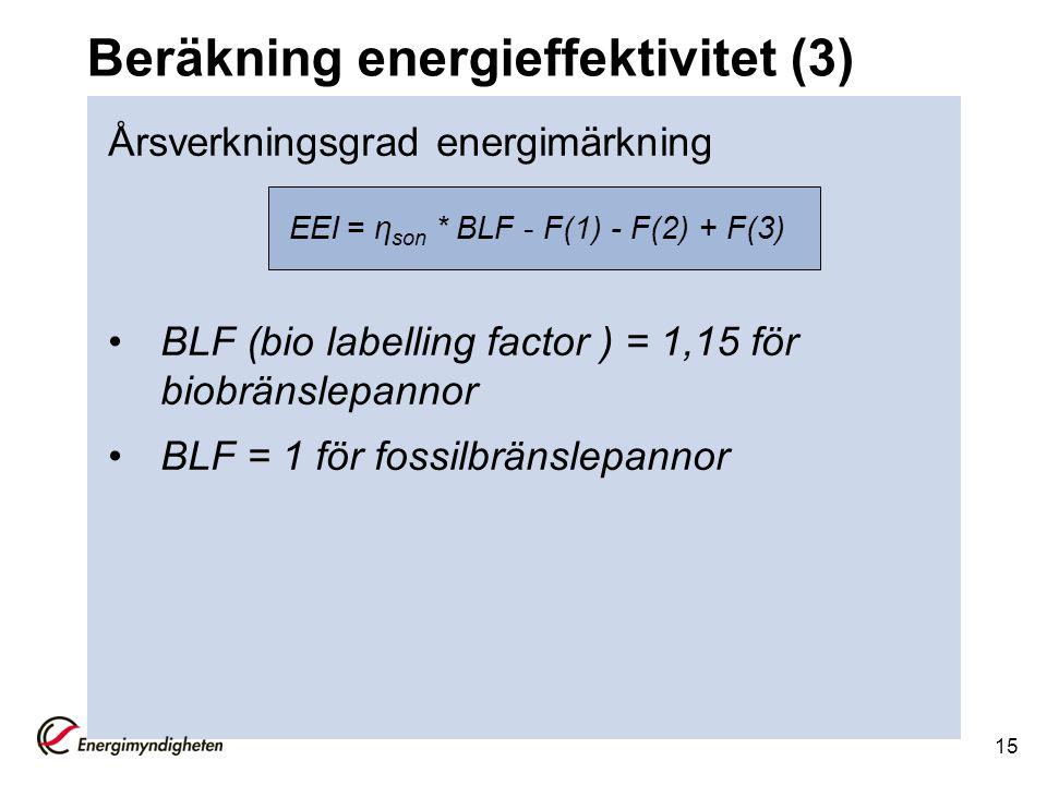 Beräkning energieffektivitet (3)