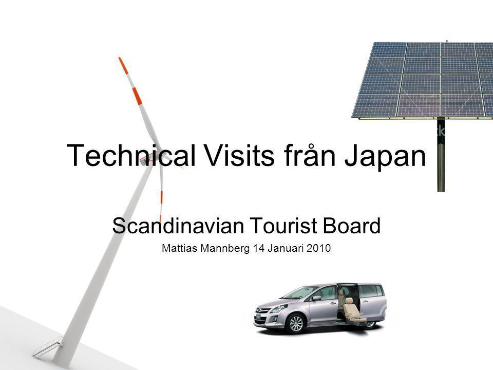 Technical Visits från Japan