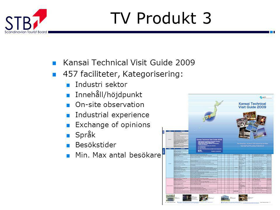 TV Produkt 3 Kansai Technical Visit Guide 2009