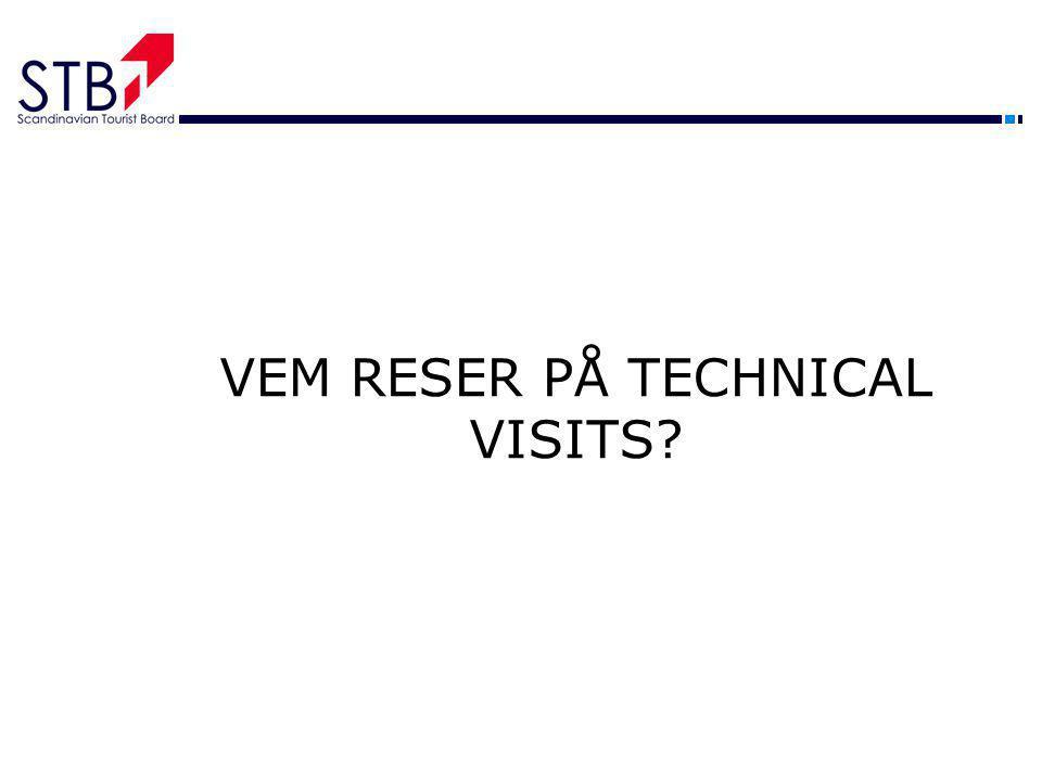 VEM RESER PÅ TECHNICAL VISITS