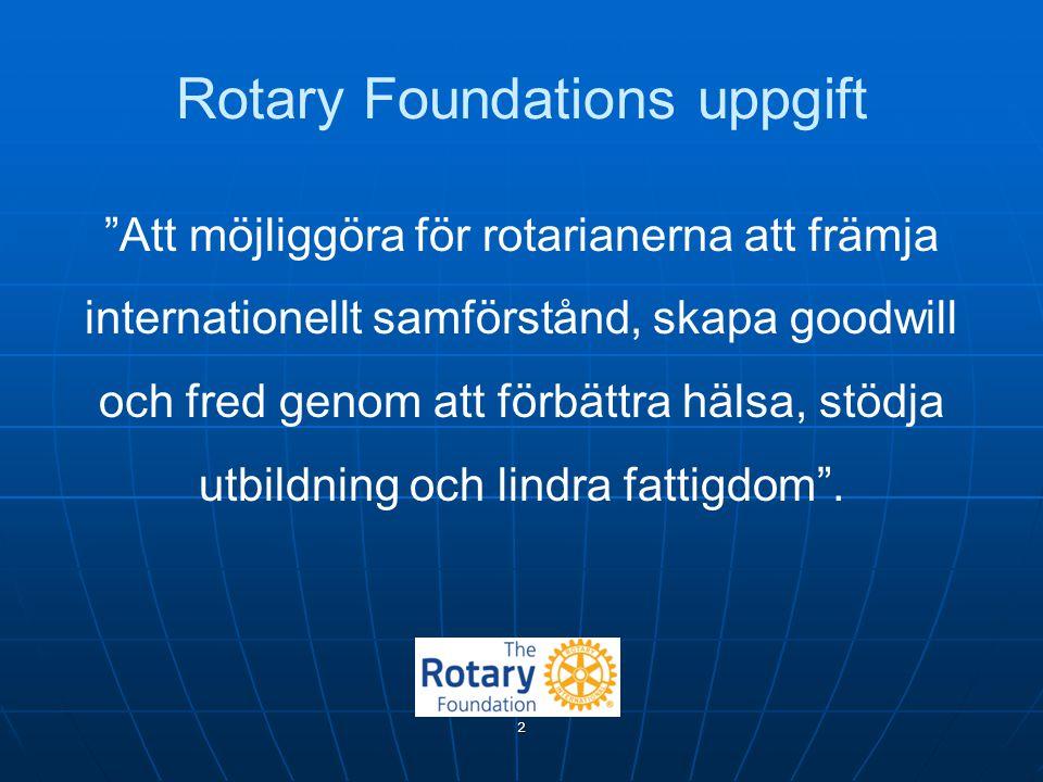 Rotary Foundations uppgift