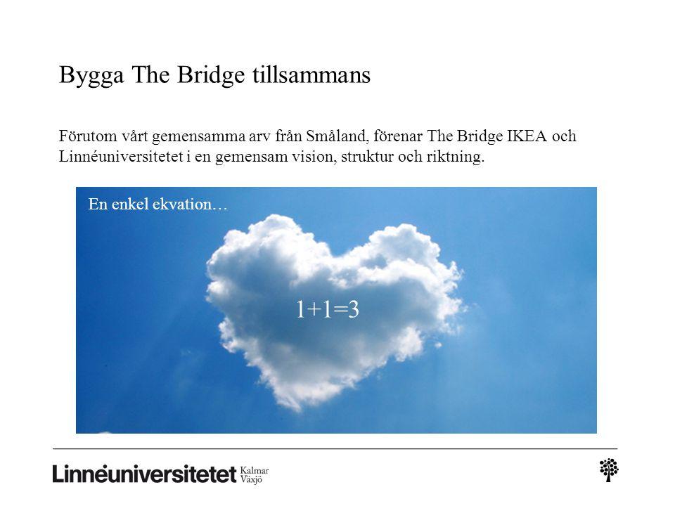 Bygga The Bridge tillsammans