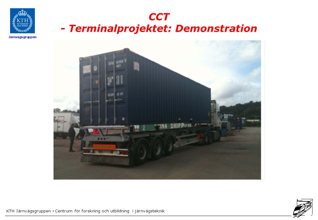 CCT - Terminalprojektet: Demonstration