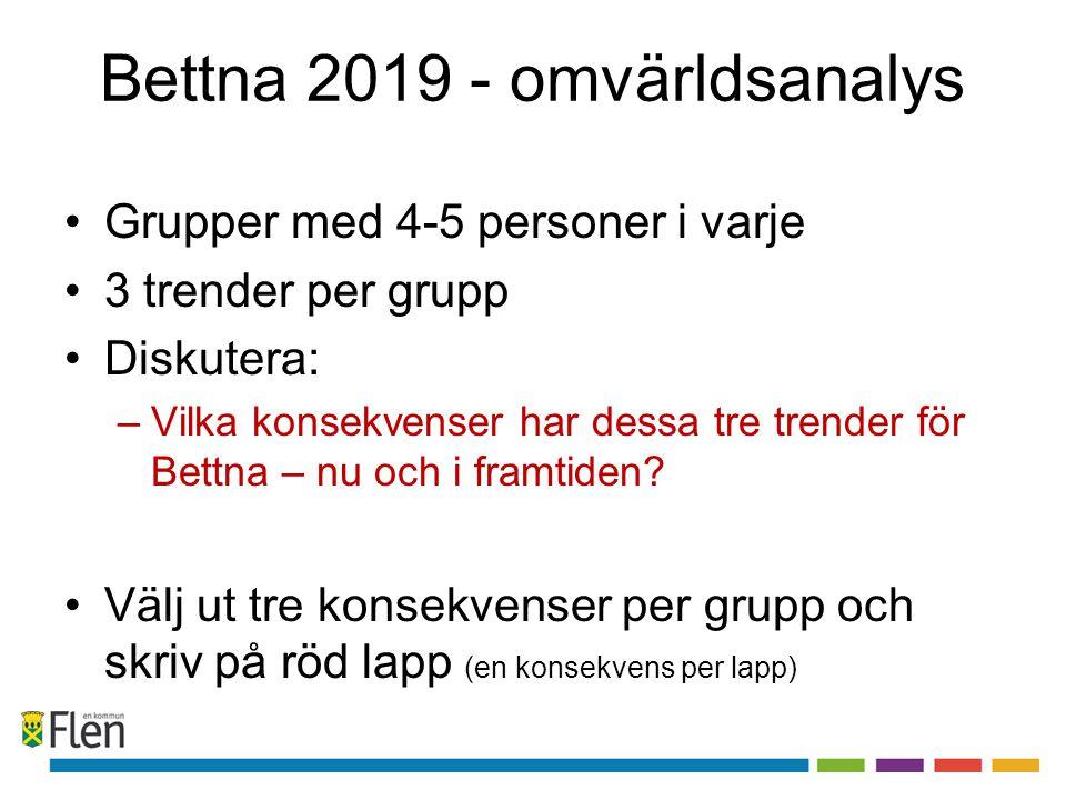 Bettna 2019 - omvärldsanalys