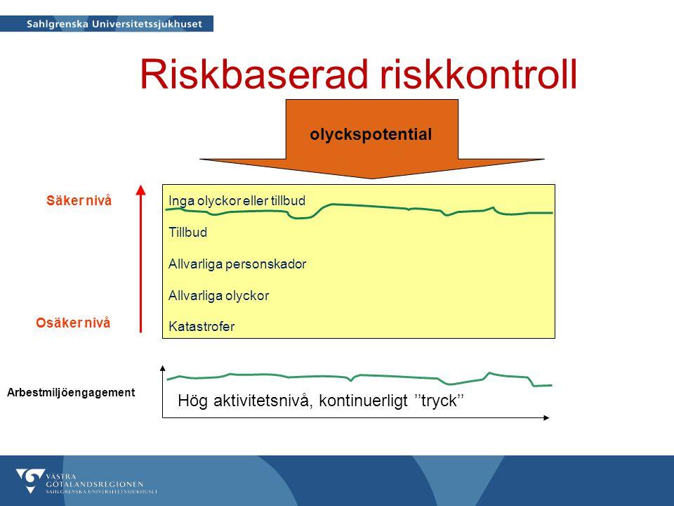 Riskbaserad riskkontroll
