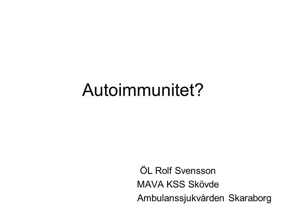 ÖL Rolf Svensson MAVA KSS Skövde Ambulanssjukvården Skaraborg