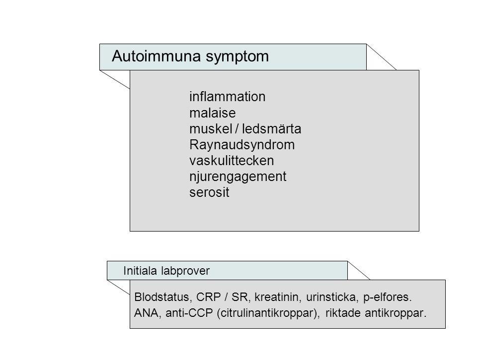 Autoimmuna symptom