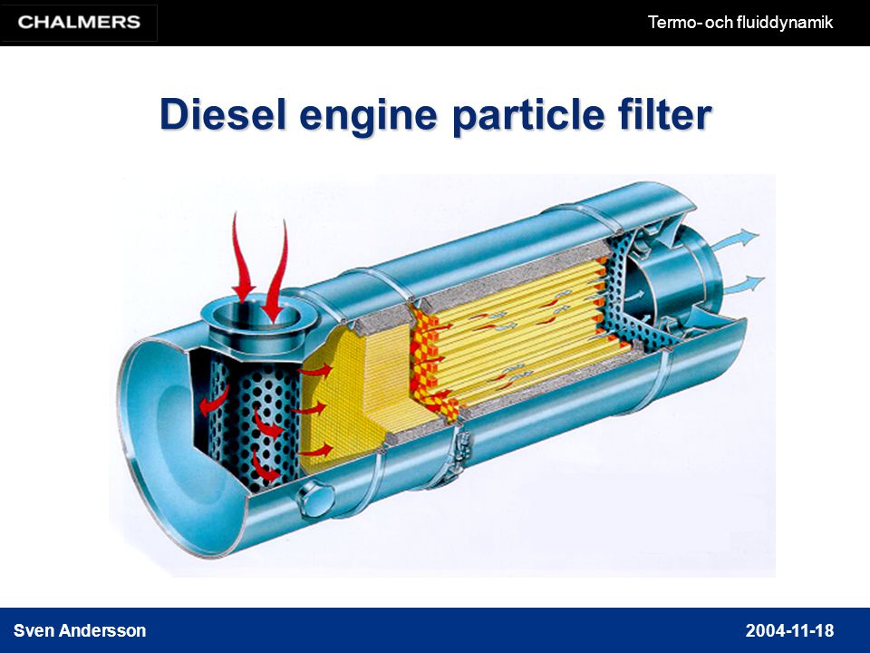 Diesel engine particle filter