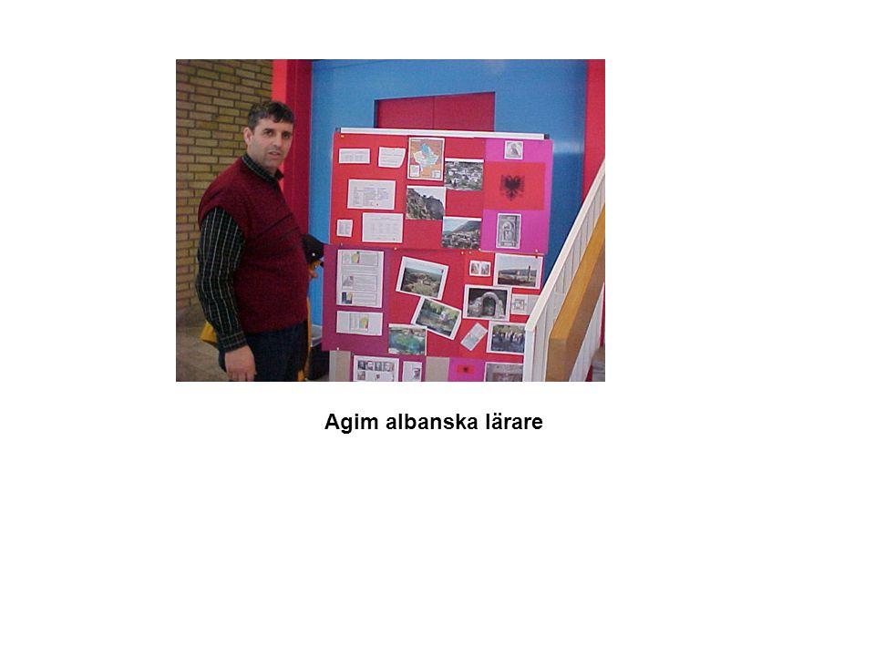 Agim albanska lärare