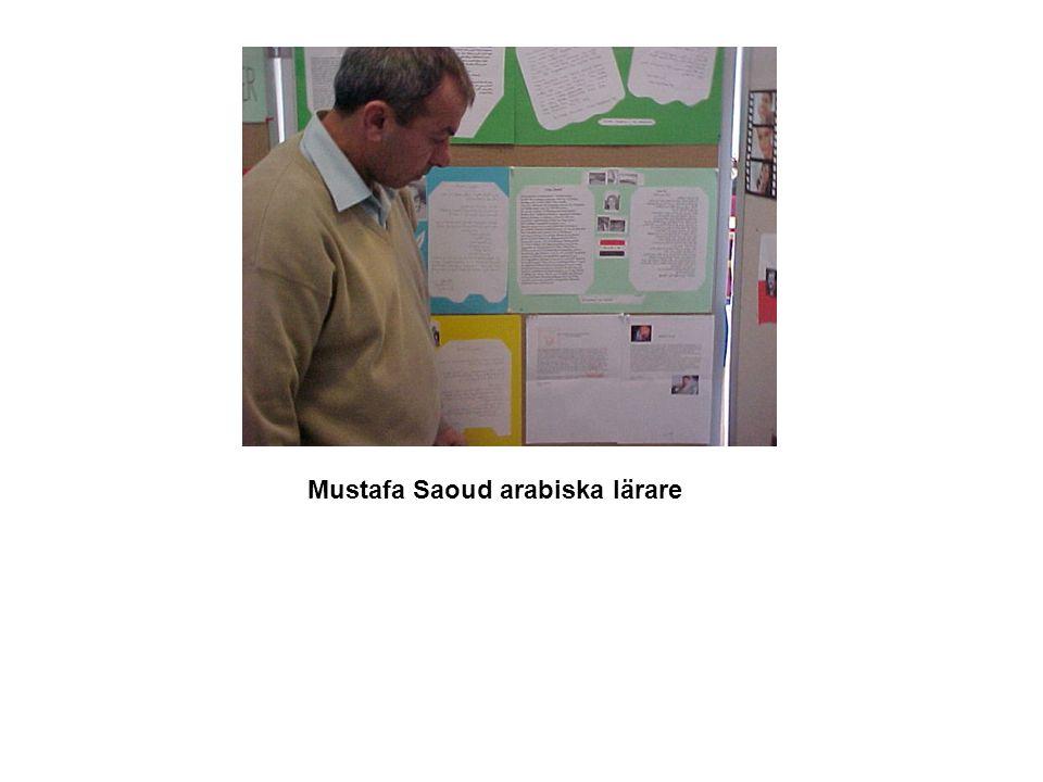 Mustafa Saoud arabiska lärare
