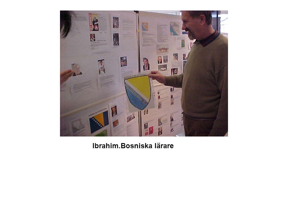 Ibrahim.Bosniska lärare