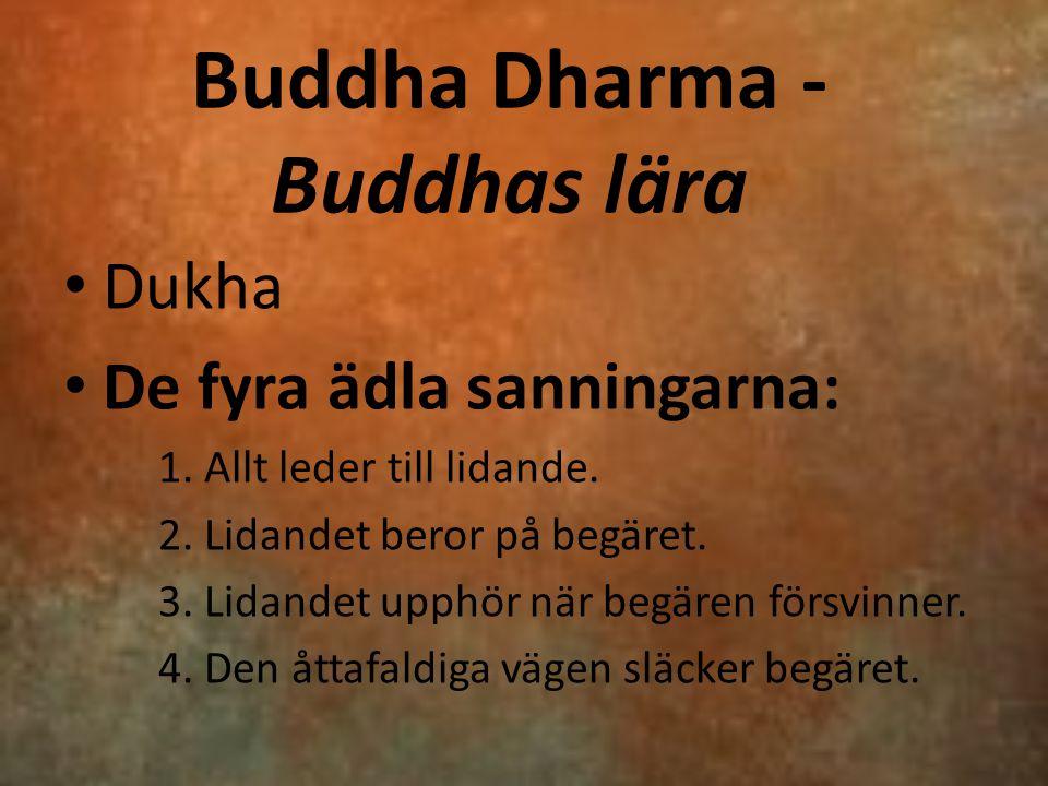 Buddha Dharma - Buddhas lära