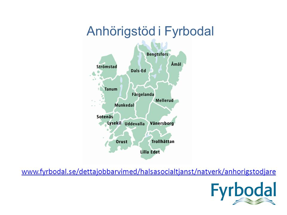 Anhörigstöd i Fyrbodal